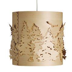 Norwegian Forest Small Birch Pendant Light from Heal's Luxury Chandelier, Modern Chandelier, Laser Cut Lamps, Lamp Inspiration, Forest Light, House Lamp, Tree Lamp, Digital Fabrication, Flower Lights