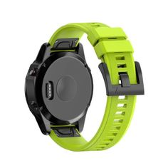Garmin Fenix 5 Watch Band, Shangpule Soft Silicone Wristband Replacement Strap with Quick Release Connectors for Garmin Fenix 5 / Forerunner 935 GPS Watch (Green) Running Gps, Gps Sports Watch, Watch Strap Replacement, Wearable Device, Gps Tracking, Gps Navigation, Kit, Watch Bands, Smart Watch
