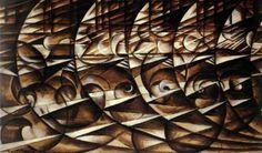Giacomo Balla - Abstract Speed - (Italian Futurism)