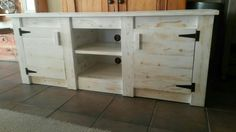 TV Unit  2 Door / 2 Shelf (Made by: Shane Ikin)