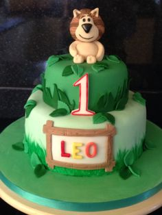 Raa raa the noisy lion cake