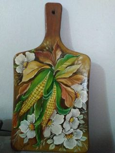Body Painting On Wood - Ellene Tapsell One Stroke Painting, Tole Painting, Fabric Painting, Painting On Wood, Mexican Paintings, Easy Paintings, Acrylic Paint On Wood, Barn Wood Crafts, Arte Floral