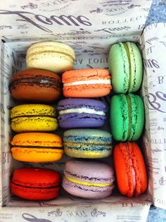 Macarons. Kat is seriously obsessed!
