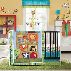 Kids Line  4 Piece Crib Bedding Set,  Little Tree House (Discontinued by Manufacturer) * Read more reviews of the product by visiting the link on the image. (This is an affiliate link) #HomeDecorIdeas