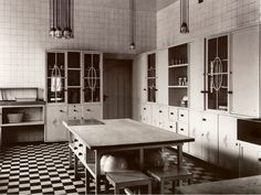 Palais Stoclet kitchen - Josef Hoffman - Brussels