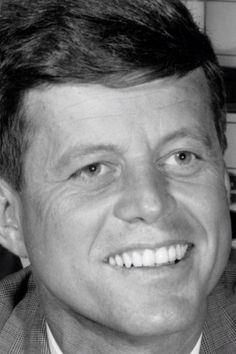 *JOHN F. KENNEDY ~ I can really see the resemblance between he and Bobby in this picture.