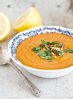 Red Lentil Soup | a Couple Cooks