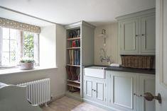 Utility - boot store, half cupboard Wine room - floors Neptune Paint - Moss