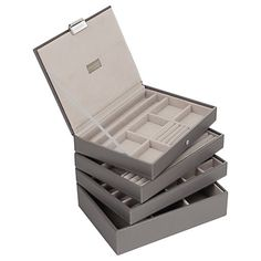 Buy Stackers Jewellery Box Lid, New Mink Online at johnlewis.com