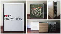 Verkami: Storage for Brompton bicycles