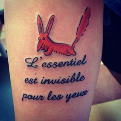 The Little Prince tattoo! Little Prince Tattoo, Little Prince Fox, Pretty Tattoos, Beautiful Tattoos, Cool Tattoos, Hand Tattoos, Body Art Tattoos, Tatoos, Shakespeare Tattoo