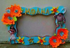 Marco para fotos de moana para Fiesta infantil tematica de moana hawaiana - marcos de cumpleaños de moana, tendencias en decoracion de fiestas