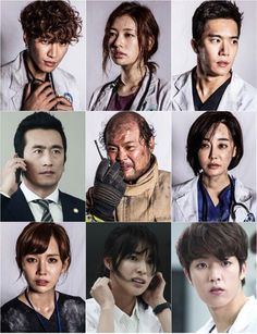 The earthquake strikes in medical-disaster drama D-Day » Dramabeans Korean drama recaps