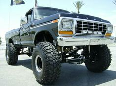 jacked up ford pickup trucks for sale 79 Ford Truck, Pickup Trucks For Sale, Ford Pickup Trucks, Jeep Truck, Old Trucks, Ford 4x4, Truck Camping, Mudding Trucks, Pickup Camper