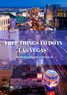 Planning a trip to Las Vegas but you're on a budget? Check out the top 10 Free Things to do in Las Vegas!