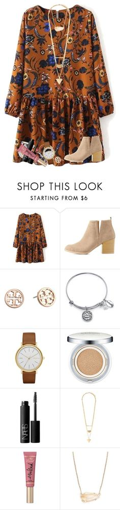 """""""beauty begins the moment you decide to be yourself"""" by kyliegrace ❤ liked on Polyvore featuring beauty, Charlotte Russe, Tory Burch, Footnotes Too, Skagen, Sulwhasoo, NARS Cosmetics, Forever 21, Too Faced Cosmetics and Kendra Scott"""