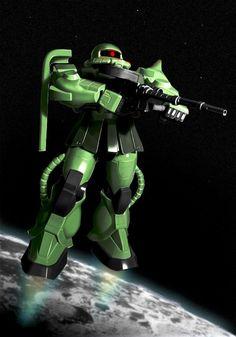 Digital Paint Gundam #art #digitalart #drawing #wacom