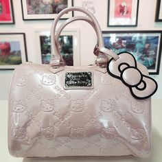 067af50f85f4 Rose Smoke with Rose Smoke bow. Gina Marie · Hello Kitty Embossed Loungefly  City Bags