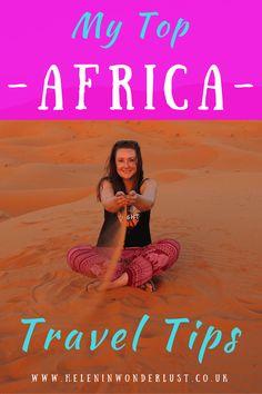 My Top Africa Travel Tips - Helen in Wonderlust