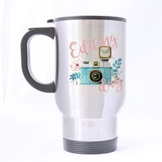SCSF Funny Quotes Travel MugsPhotographer Editing Day Coffee Tea CupStainless Steel 14 Ounces * Details can be found by clicking on the image.