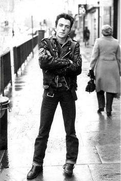 Joe Strummer. I'm a Clash fan from the start. photo editor online http://photo-sharpen.com