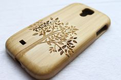 samsung galaxy s4 case - wood galaxy s4 case - tree bamboo galaxy s4 case