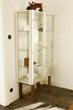 Renovated old nursing shelf in furniture for the living