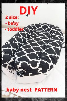 Pattern for sewing a baby nest with a removable mattress. Two size: - baby - toddler The cover is removble mattress. A cozy baby nest made of eco-friendly and hypoallergenic materials will create feeling of the kid's safety and comfort. Baby Nest Pattern, Snuggle Nest, Preparing For Baby, Baby Birth, Simplicity Patterns, Baby Shower Gifts, Mattress, Eco Friendly, Safety