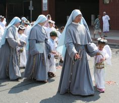 Franciscan Sisters of the Immaculate - These are the very wonderful sisters who helped raise us :)