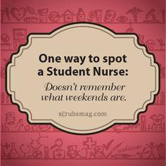 Are you easily recognized as a student nurse? ;) #LOL #NursingStudents #Nurses