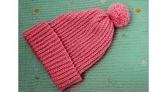 Шапка крючком. Как связать детскую шапку крючком Самая простая схема вязания шапки крючком. Легко даже для начинающих рукодельниц! ... #шапка # #крючком...
