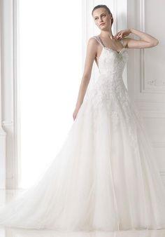 PRONOVIAS Maral Wedding Dress - The Knot