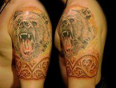 Татуировки Медведи