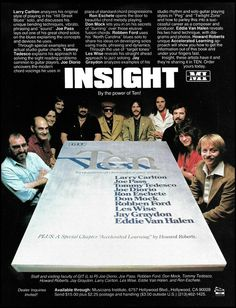 Classic Rock Artists, Eddie Van Halen, He's Beautiful, Vintage Advertisements, Blues, Vintage Ads