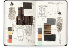 ✔ Fashion Sketchbook Cover Page Fashion Design Sketchbook, Fashion Design Portfolio, Fashion Illustration Sketches, Illustration Mode, Fashion Sketches, Fashion Layouts, Sketchbook Layout, Sketchbook Cover, Moleskine Sketchbook