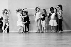 Getting ready for class    *photo by Robin Dodd Photography*