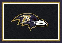Baltimore Ravens Team Spirit Rug Baltimore Ravens