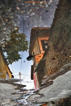 An Old Traditional House in Kula, Manisa Province, Western Anatolia Turkey