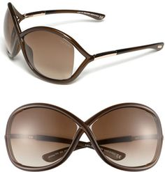 #Tom Ford #Eyewear #Ford #'Whitney' #64mm #Open #Side #Sunglasses #Dark #Brown #Size Tom Ford 'Whitney' 64mm Open Side Sunglasses Dark Brown One Size http://www.seapai.com/product.aspx?PID=5329379