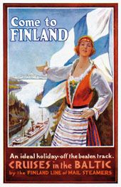 Come to Finland - postikortit