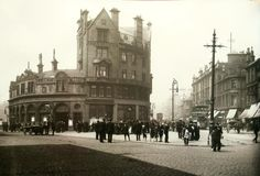 Anderston Cross, Glasgow Where the Kingston Bridge now stands over Argyle Street. Glasgow Scotland, Scotland Travel, Argyle Street, Family History Book, Places To Visit, Street View, City, Pictures, Destruction
