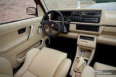 Fresh leather in a VW Jetta Mk1, Vw Cabriolet, Vw Corrado, Volkswagen Golf Mk1, Automotive Upholstery, Golf 2, Mercedez Benz, Gas Monkey Garage, Motorcycles