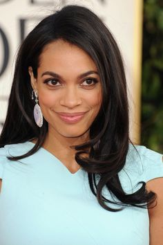 Rosario Dawson : Rosario Dawson's Lorraine Schwartz earrings added a bold finish to her gown.