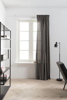 Artist Home, donkere linnen gordijnen | dark linen curtains | KARWEI 9- 2017
