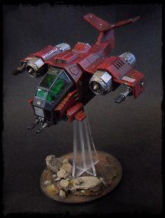 Warhammer 40k Word Bearers Storm Talon/Heldrake Conversion Well Painted | eBay