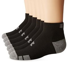 Under Armour Resistor Lo Cut Socks Black Youth Large Pack of 6 >>> Click image to review more details.Note:It is affiliate link to Amazon. #tagblender