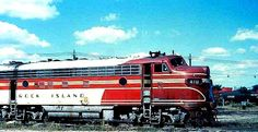 Rock Island Railroad 1958 Iowa