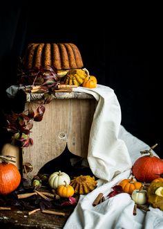 Bundt Cake de abóbora e cheesecake   Faz & Come