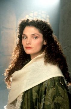 Mary Elizabeth Mastrantonio, 'Robin Hood: Prince of Thieves' (1991). Costume design by John Bloomfield.