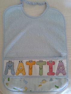 Cristina Gambetti: questo l'ho fatto io - bavaglino Mattia alfabeto occhietti - punto croce